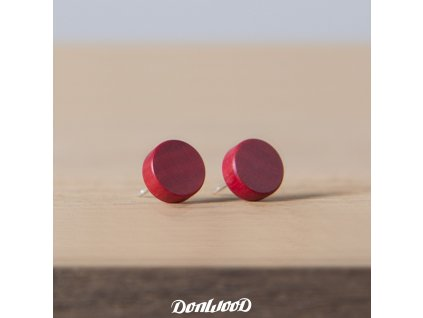 pink naušnice
