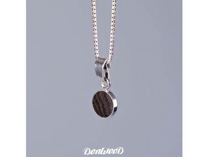 Donwood řetízek bocote stříbro