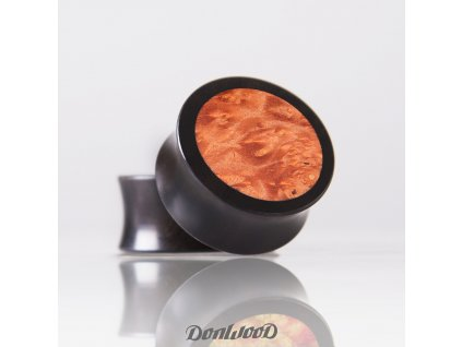 oranzovy dreveny plug orange space DonWood