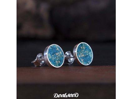 Donwood naušnice modré
