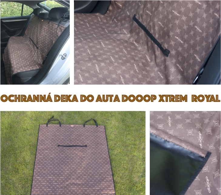 Ochranná deka do auta DOOOP Xtrem - Royal