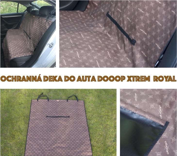Ochranná deka do auta DOOOP Xtrem - Royal