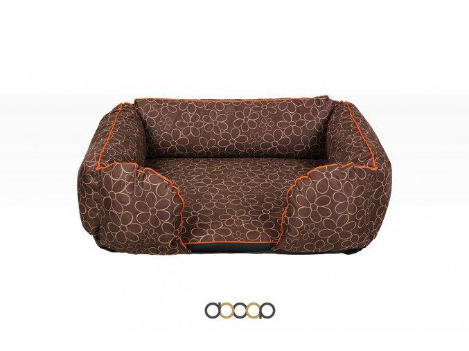 pf010 pelechy pelisky dog bed dooop lagoon xtrem kytka pro psa 80x60 01