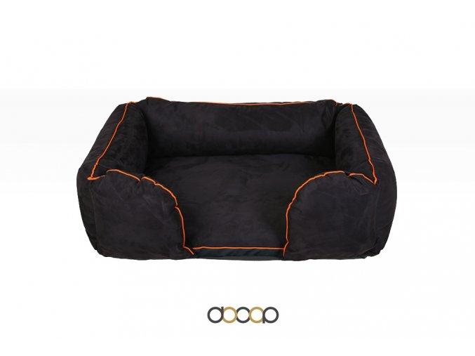 pc011 pelechy pelisky dog bed dooop lagoon xtrem cerna pro psa 100x70 01