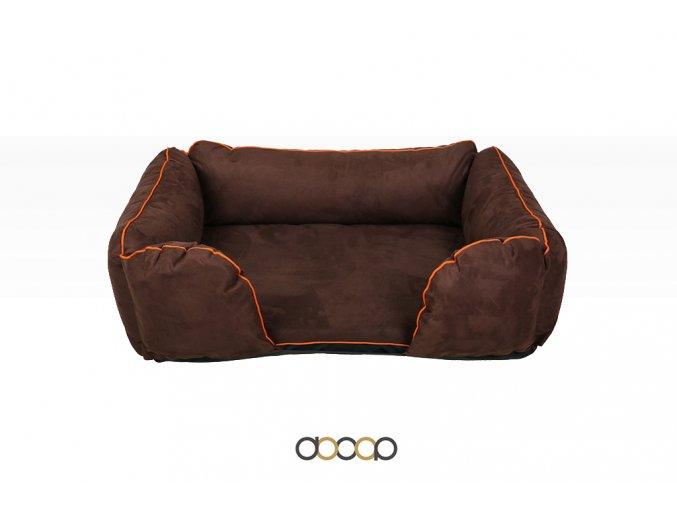 ph012 pelechy pelisky dog bed dooop lagoon xtrem hneda pro psa 120x80