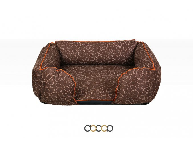 pf012 pelechy pelisky dog bed dooop lagoon xtrem kytka pro psa 120x80