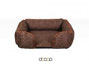 pf011 pelechy pelisky dog bed dooop lagoon xtrem kytka pro psa 100x70 01