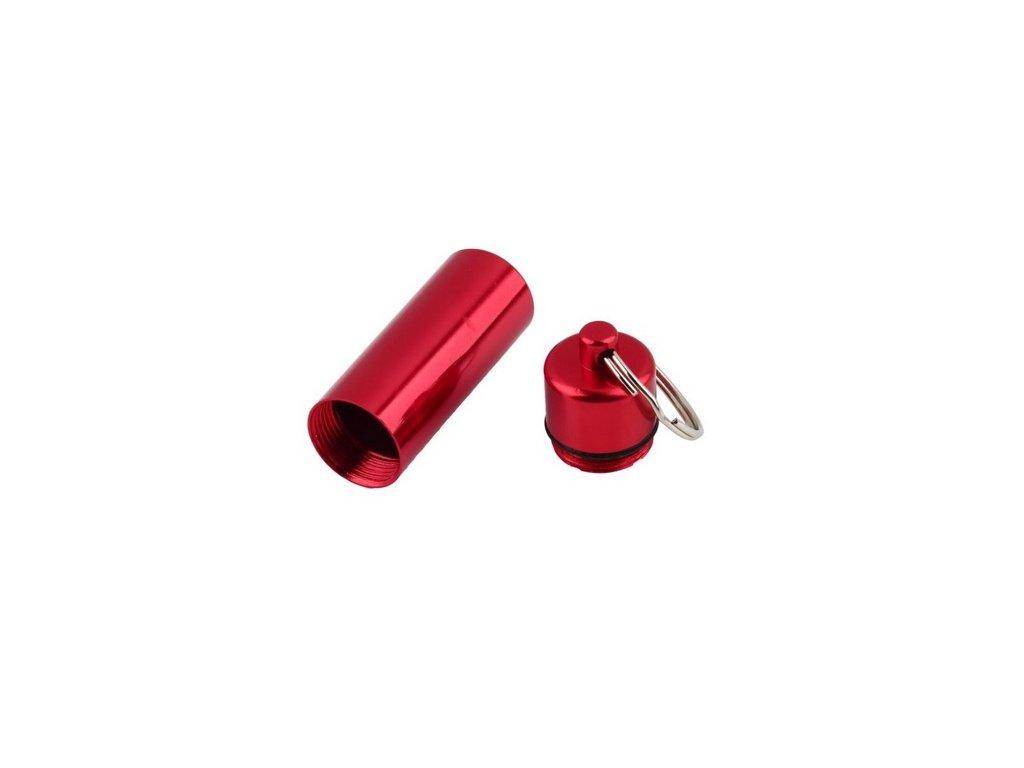Hliníková kapsle - červená