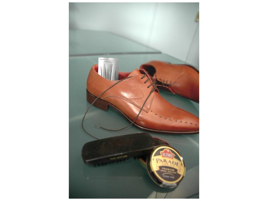 Karta do peněženky - lžíce na boty