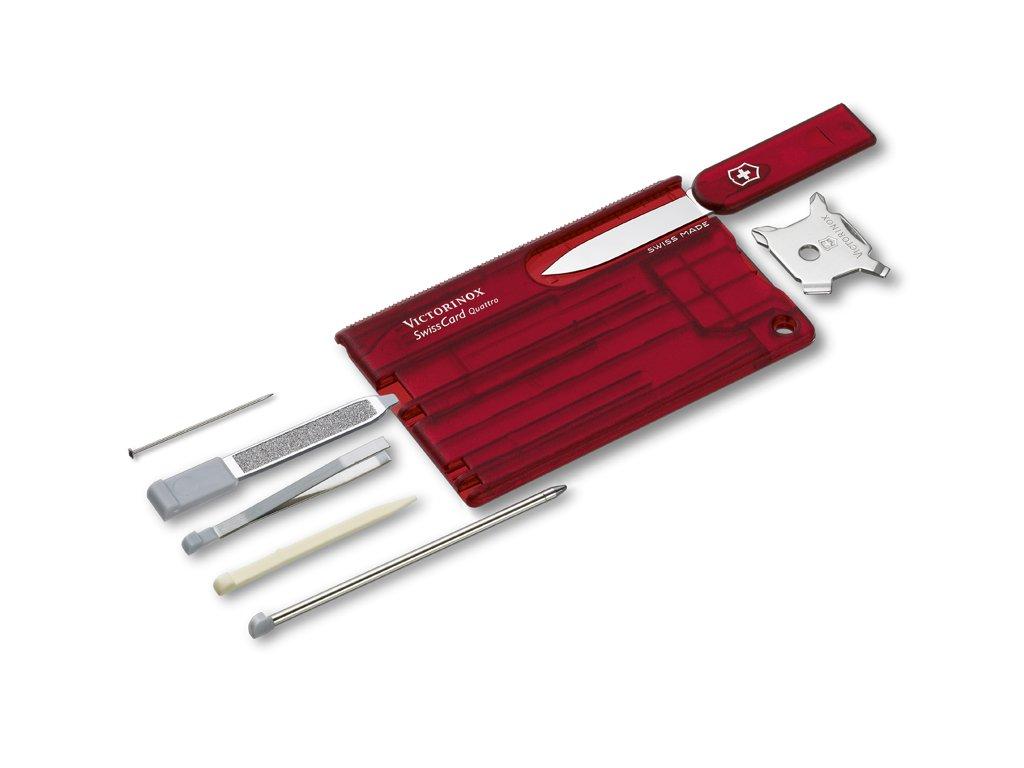 Multifunkční karta - SwissCard Quattro