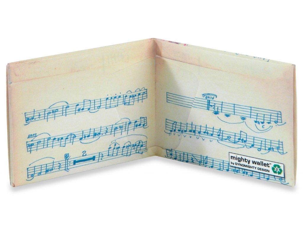 Peněženka Music Sheet