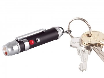 LED světlo s laserem - TRUE UTILITY LaserLite