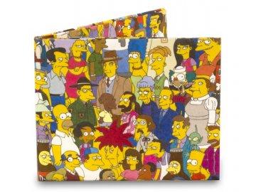 Peněženka Simpsons Cast