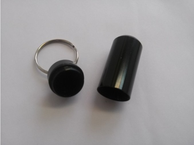 Hliníková kapsle - černá
