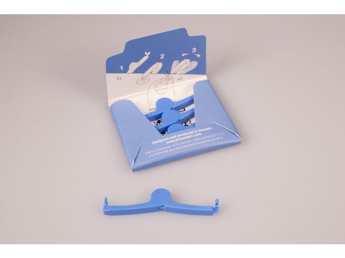 Přišít knoflík Tic® - modrý