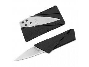 Nůž v kartě - stříbrný