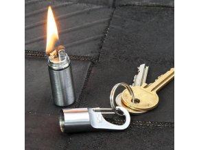 Benzínový zapalovač s klipem - TRUE UTILITY