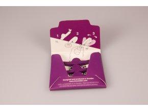 Přišít knoflík Tic® - fialový