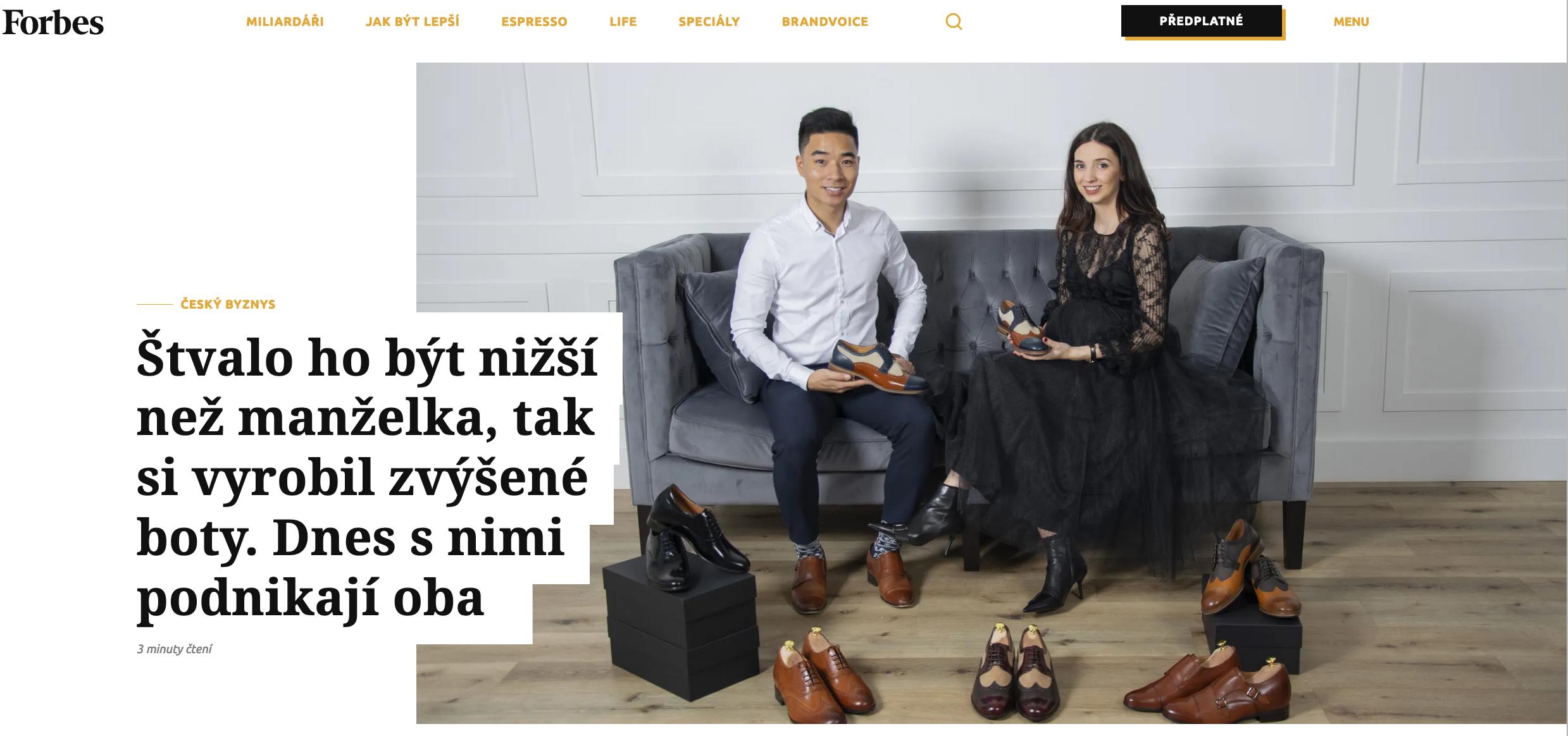 Napsali o nás - Forbes