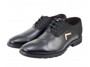 ff4f192379d Pánské společenské boty se skrytým podpatkem