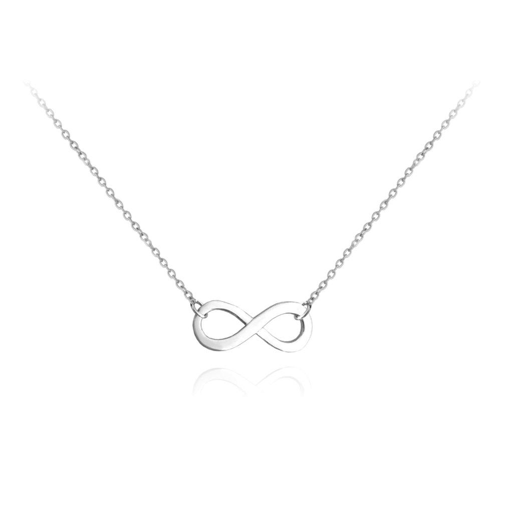 Strieborný náhrdelník MINET FOREVER