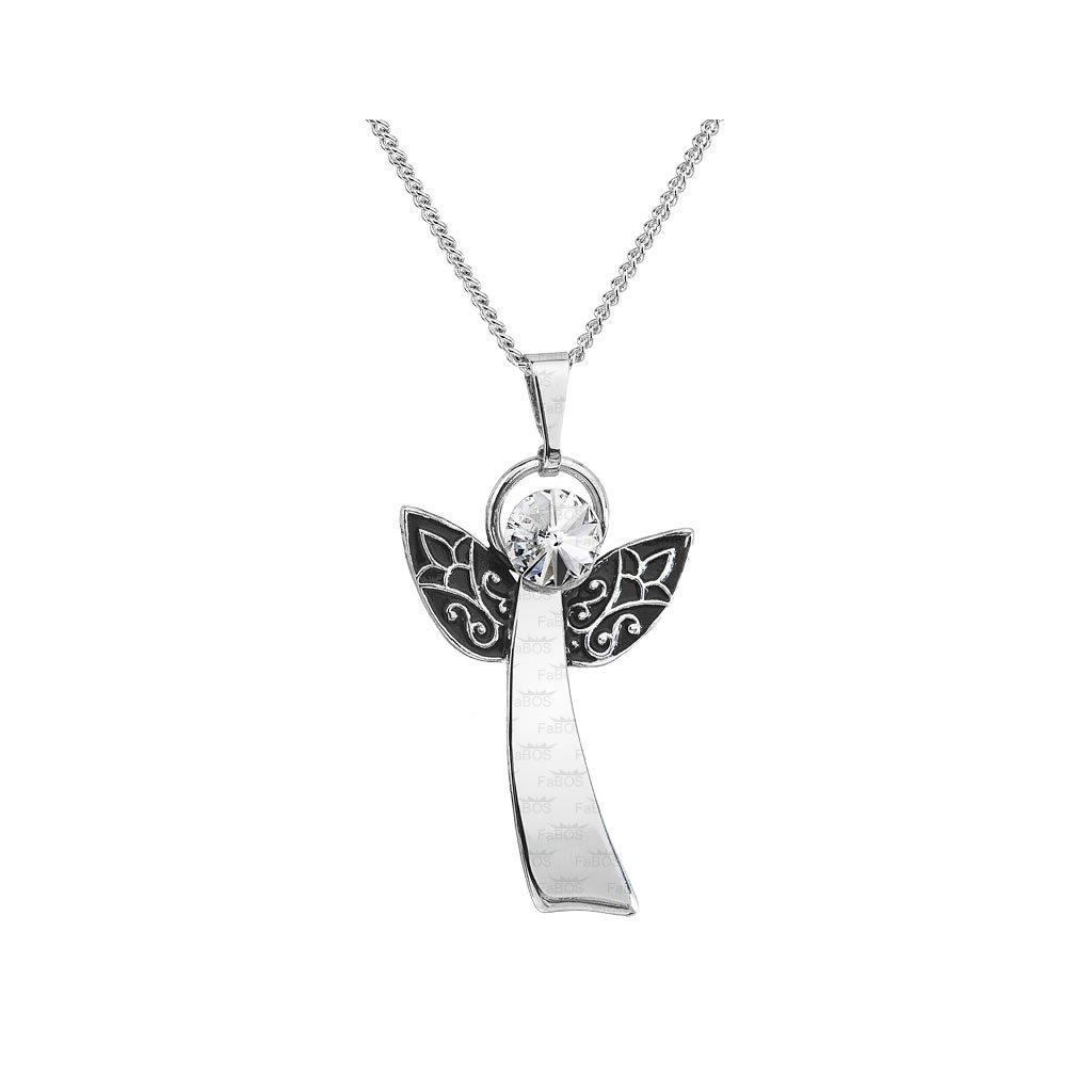 Náhrdelník Anjel šťastia FABOS