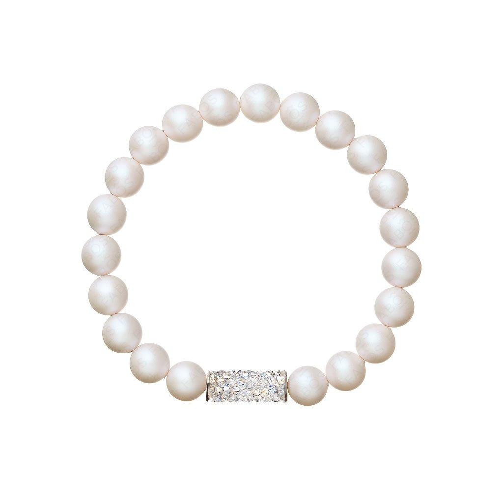 Náramok naťahovací s perlami SWAROVSKI