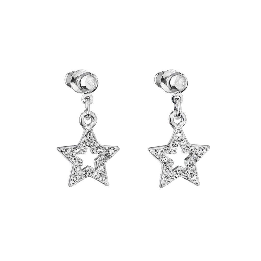 Náušnice Hviezda so šatónmi Crystal SWAROVSKI