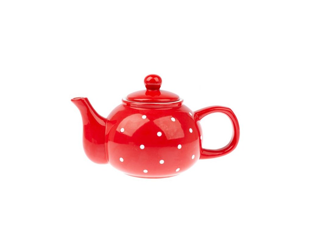 KK191016 konvička na čaj červená