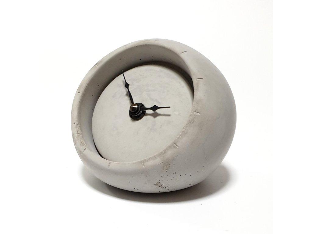 Stolní hodiny šedé 001S