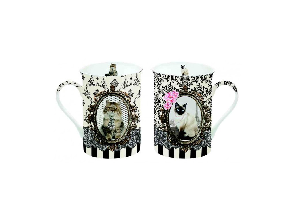 216 cats mug