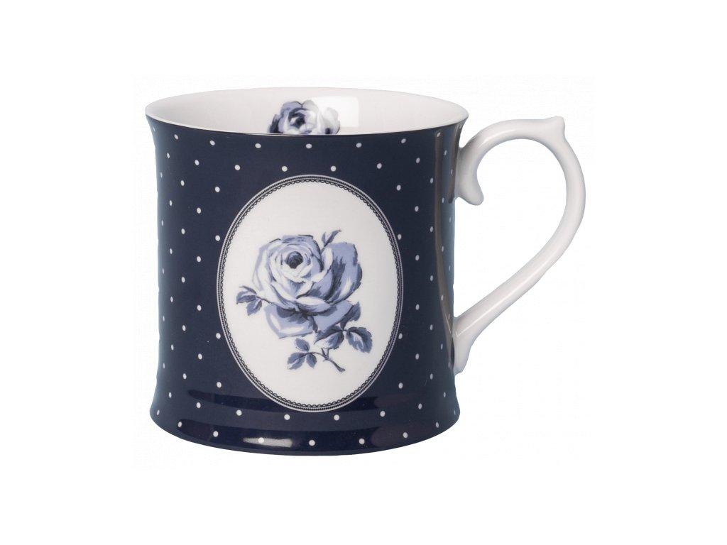 tankard mug navy spot