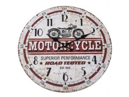 HLC9174 hodiny motorcycle