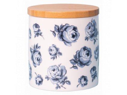 floral storage jar