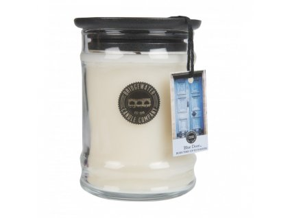 bw small jar candle bw025 blue door