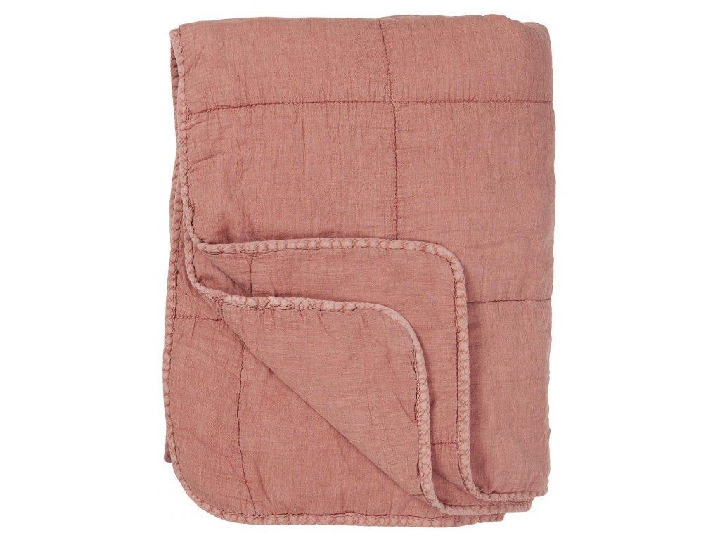 Bavlněná deka Desert Rose