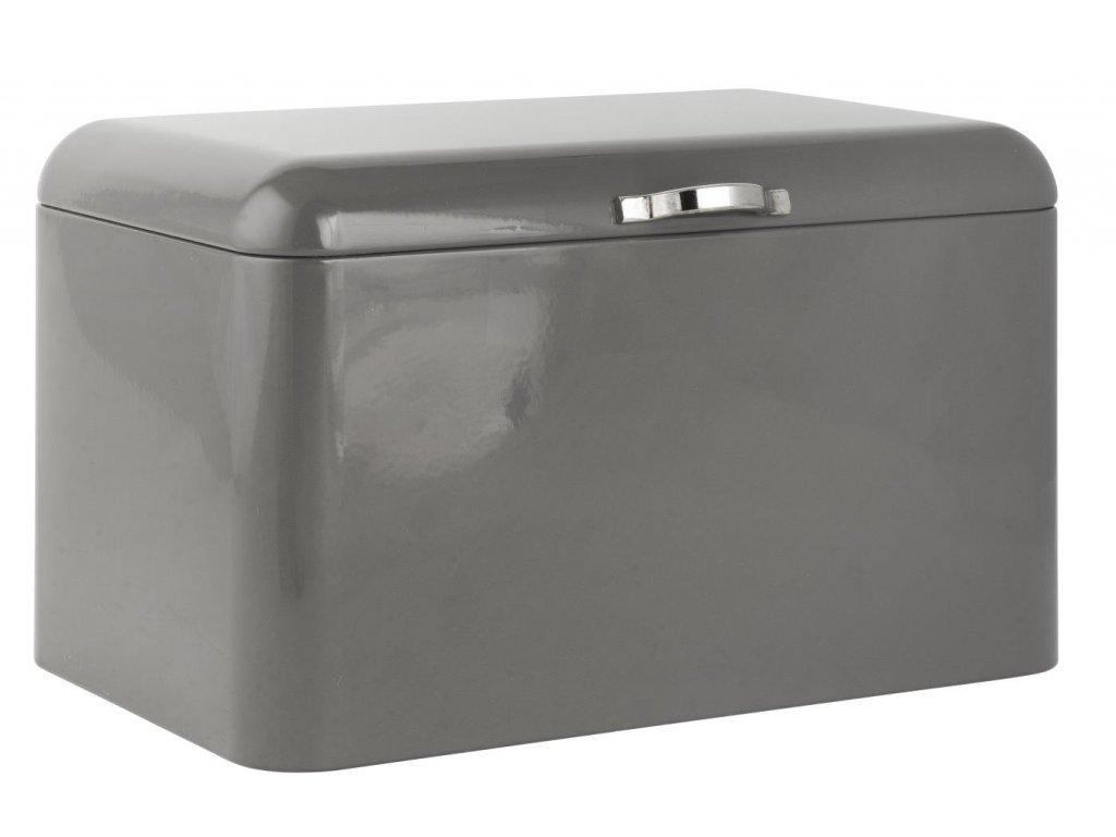 Úložný box na pečivo, chleba, Ib Laursen, šedá barva