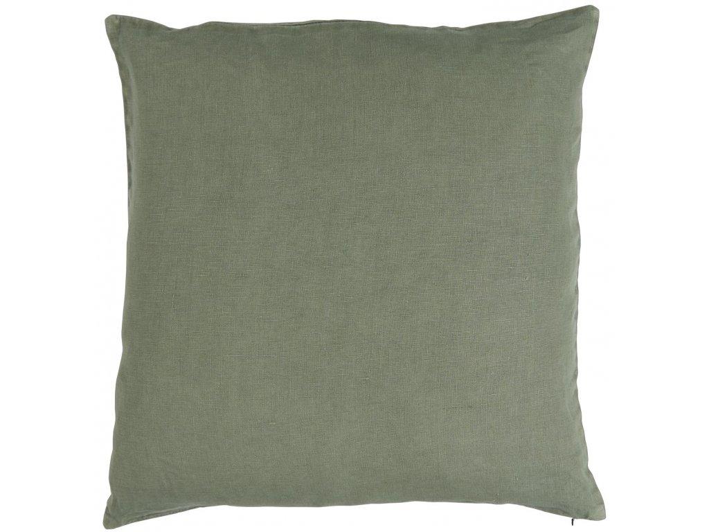Lněný povlak na polštář zeleným Ib Laursen