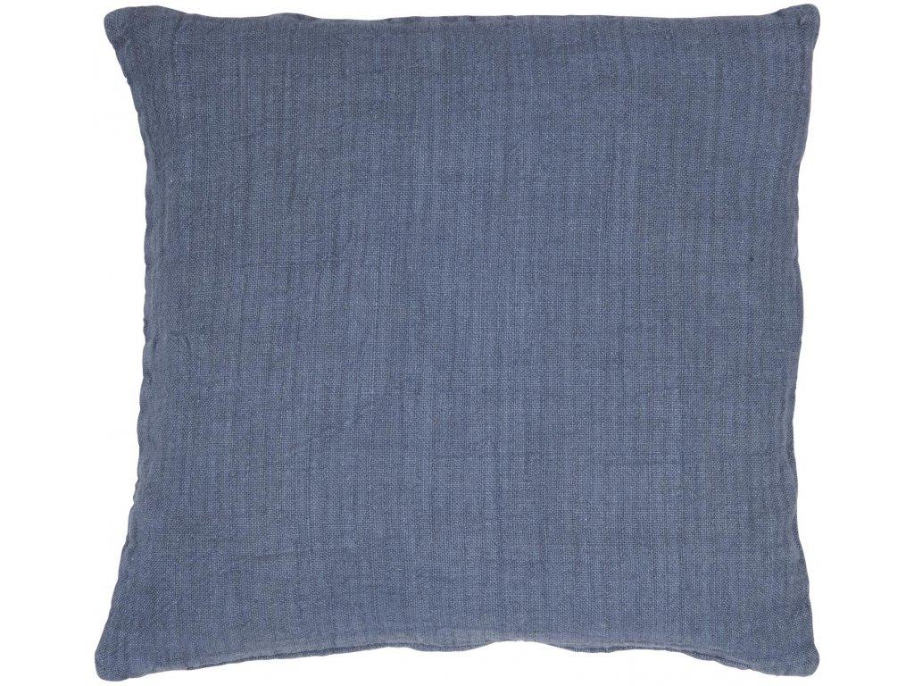 Povlak na polštář modrý