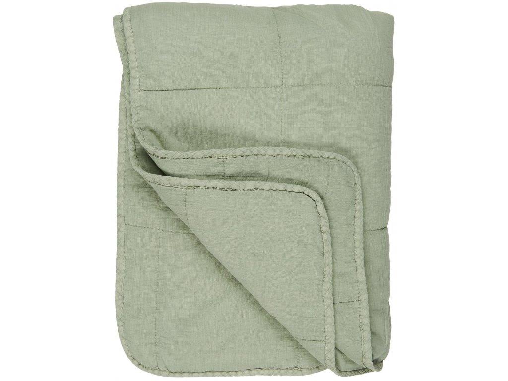 Bavlněná deka Misty Jade
