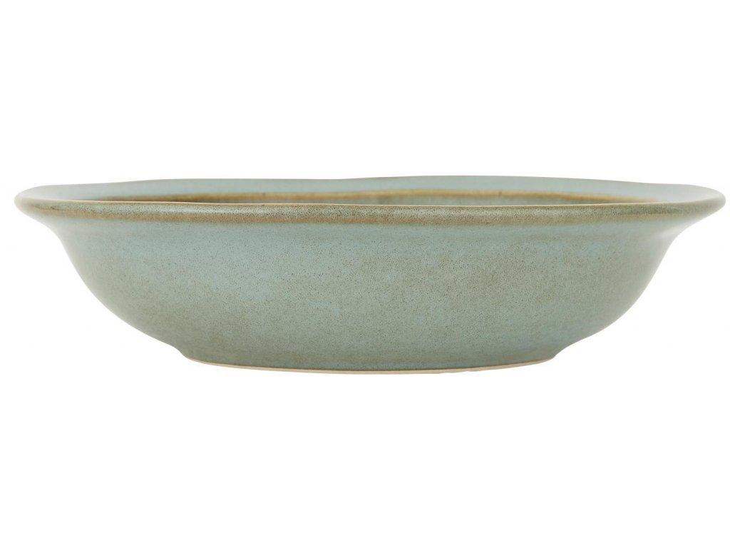 Polévkový talíř Dunes Tyrkysový