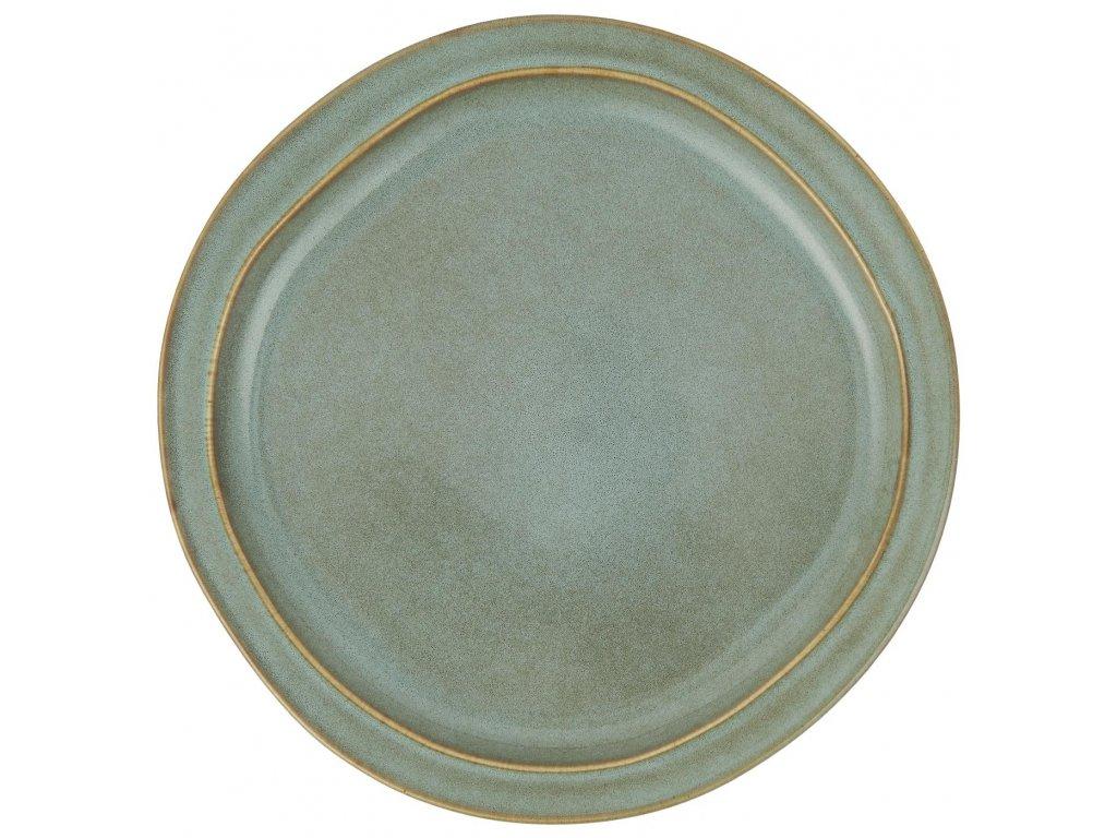 Obědový talíř  Dunes Tyrkysový