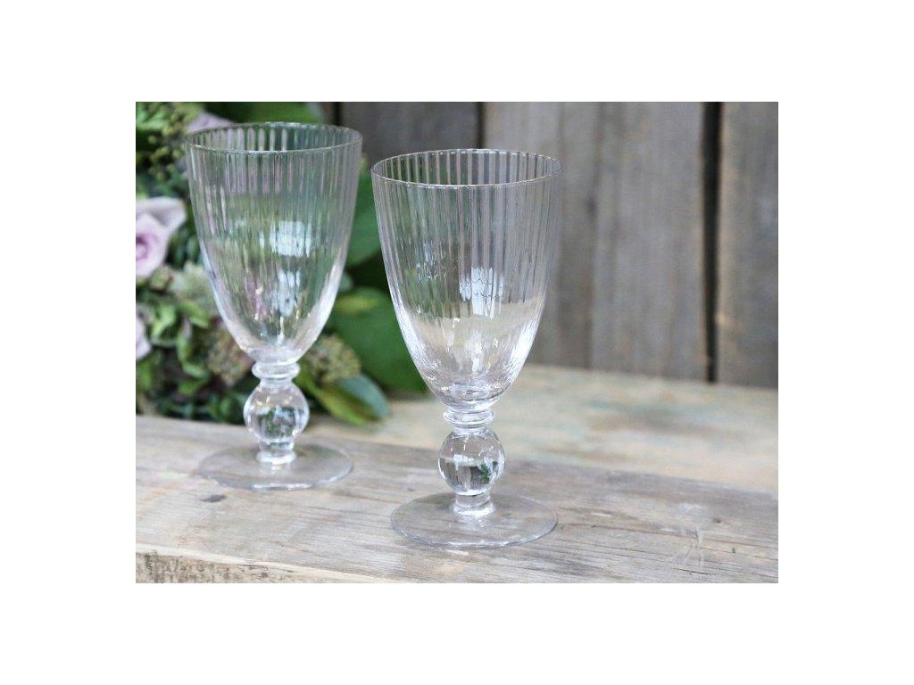 sklenice na víno Chic Antique