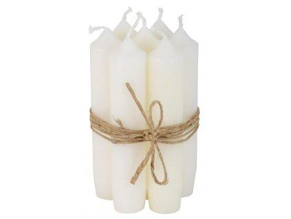 stolní svíčka bílá