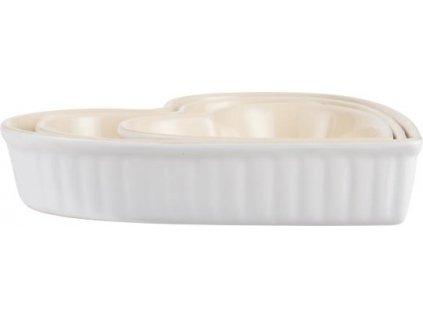Forma na pečení Mynte ve tvaru srdce Pure White
