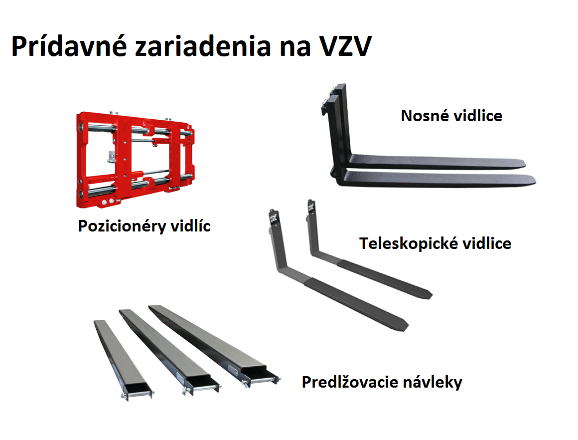 Nosné vidlice na VZV