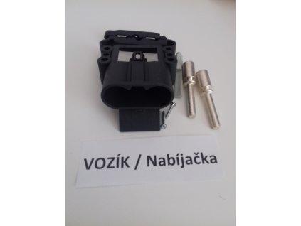 Konektor vozík/nabíjačka REMA 24V 80A 25 mm2
