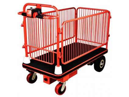 elektrický transportný vozík