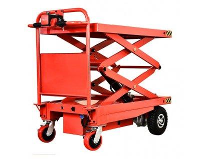 transportný vozik s plosinou 2