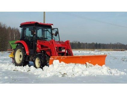 snehová radlica na traktor 4